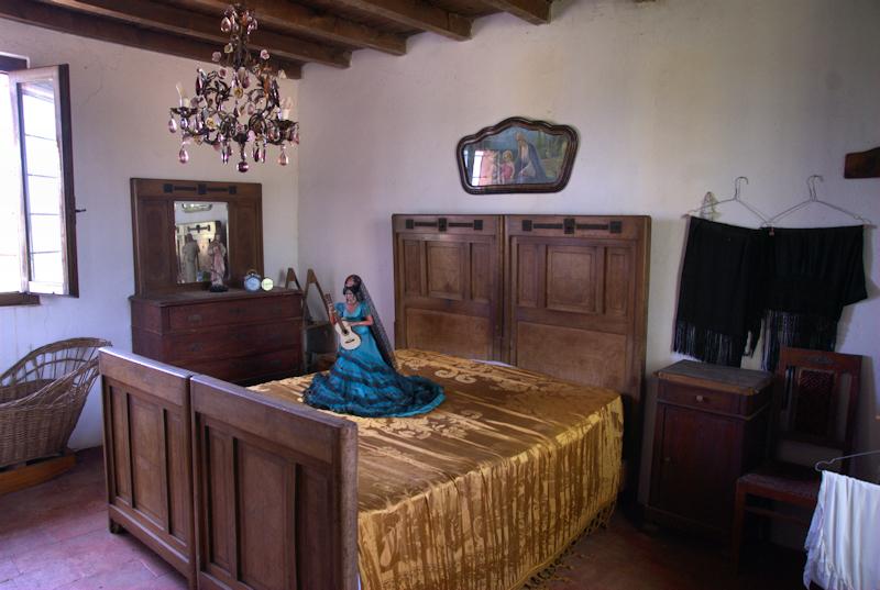 La Camera Da Letto Museo Mulino Di Sopra
